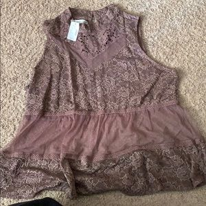 Maurices sheer tank top